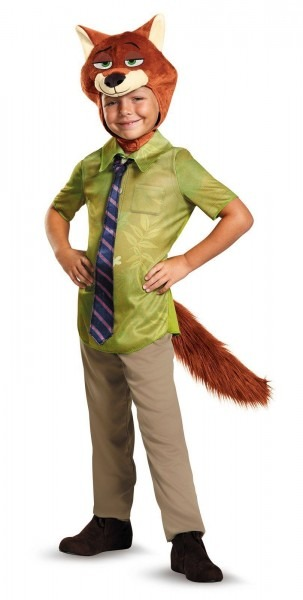 Zootopia Nick Wilde Classic Toddler Costume 3 4t Ideas Of 4t