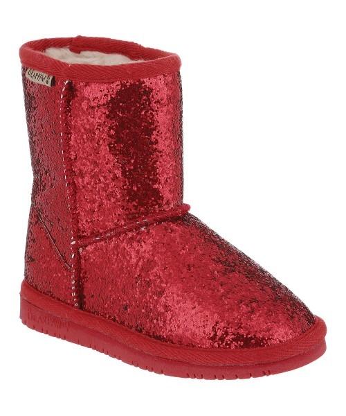 Bearpaw Red Glitter Cheri Boot