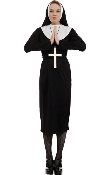 Adult Nun Costume – Orion Costumes