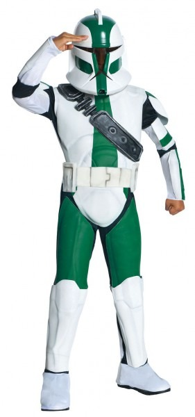 Kids Commander Gree Costume