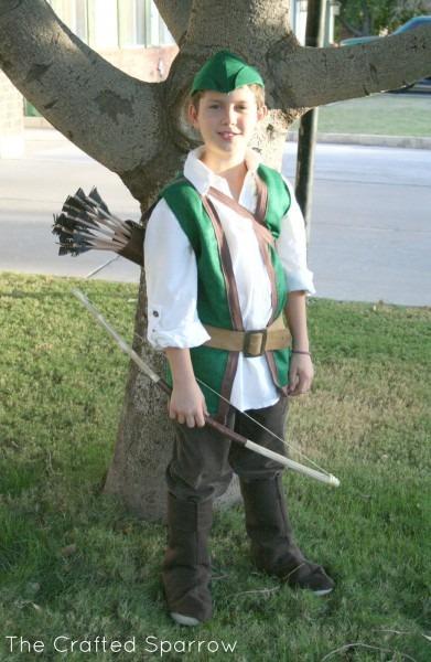 Robin Hood & Little John {halloween 2012}