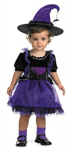 Frilly Witch Toddler Costume 12
