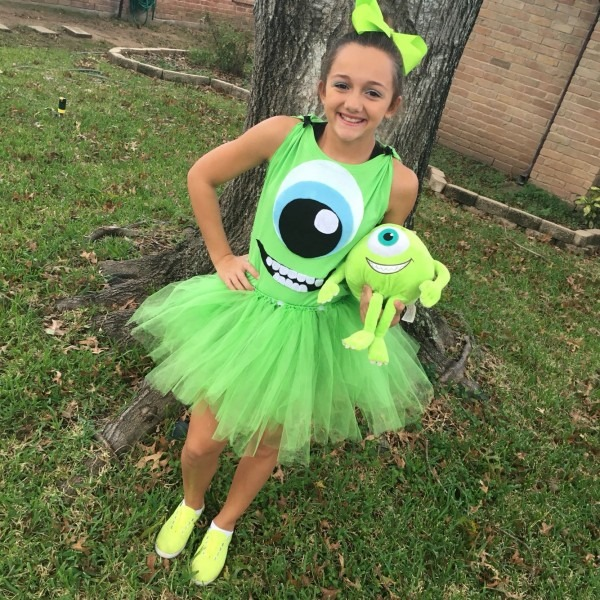 Our Own Monsters Inc Costume For Halloween  …