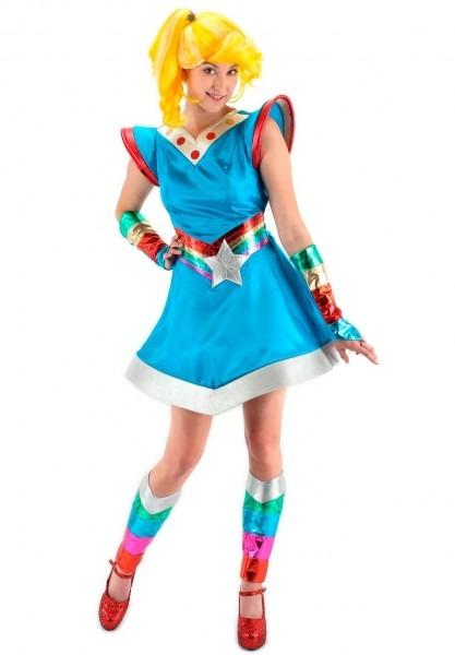 Plus Size Rainbow Brite Adult Costume