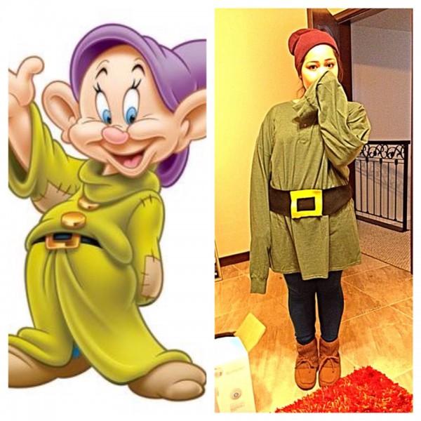 Snow White Dwarf Costume (dopey) Beanie  Forever 21 Shirt  Walmart