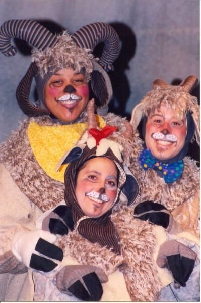 3 Billy Goats