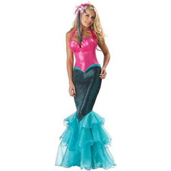Mermaid Under The Sea Ariel Costume For Women