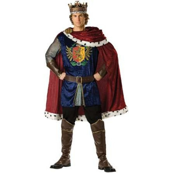 Noble King Mens Renaissance Costume