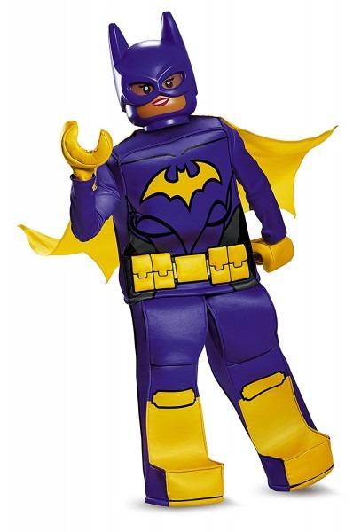 Toynk  Batman Lego Movie  Batgirl Prestige Girls Costume, L (10