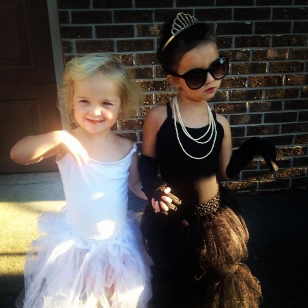 Marilyn Monroe And Audrey Hepburn Best Kid's Halloween Costumes