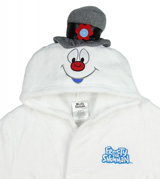 Seven Times Six  Intimo Kids' Frosty The Snowman Hooded Plush Robe