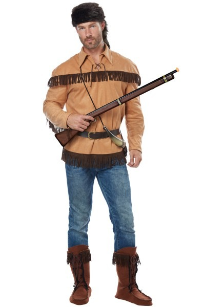 Pure Costumes  California Costumes Frontier Man Davy Crockett