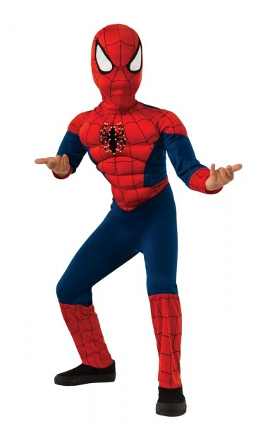 Costume Zoo  Ultimate Spiderman With Light Up Chest Boys Costume