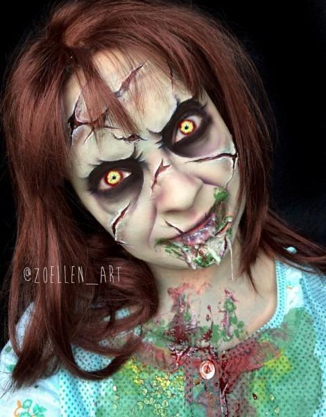 The Exorcist Reagan Makeup Sfx Makeup