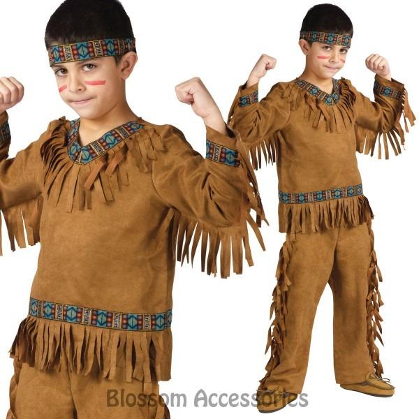 Ck639 Native Indian American Boys Teen Wild West Pocahontas Book