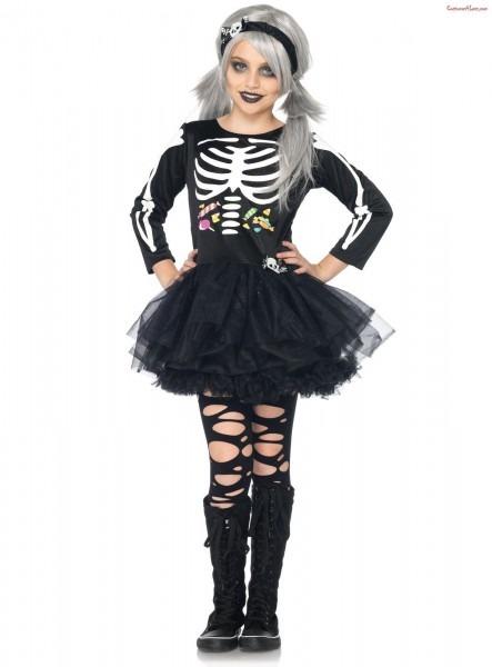 Scary Skeleton Child Costume