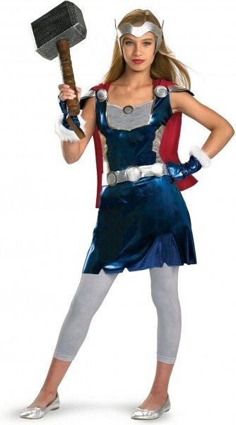 Thor Girl Costume For Kids And Teens Ready To Ship!  Thorsday