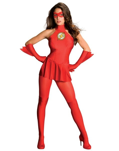 Justice League The Flash Adult Womens Costume – Spirit Halloween