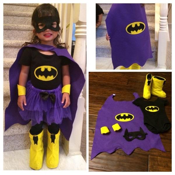 Diy Batgirl Costume  My Daughter Already Had The Black Leotard