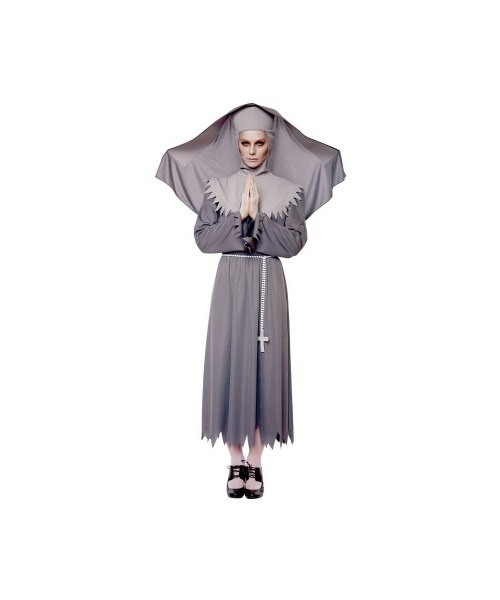 Sister Spirit Nun Women's Costume