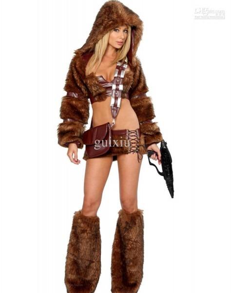 Wholesale Sexy Women's Animal Costume Sci Fi Furry Costume H39227