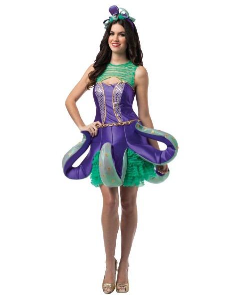 Ornate Octopus Adult Womens Costume – Spirit Halloween