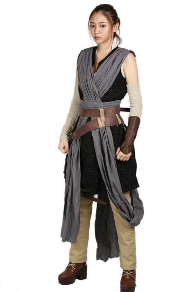 Xcoser Cosplay Rey Costume Star Wars Episode Viii  The Last Jedi