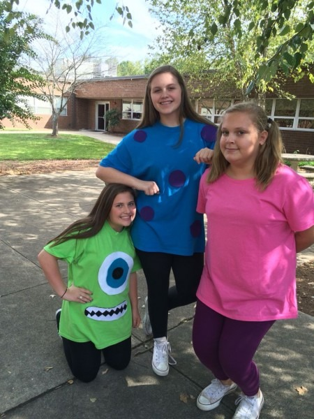 Mike, Sully, And Boo Costume!!