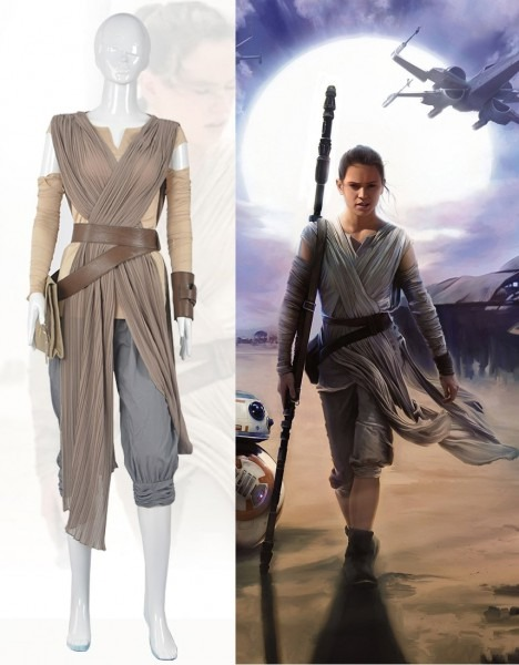 Online Shop 2016 New Star Wars Cosplay Costume The Force Awakens