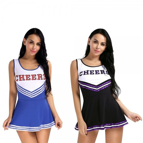 2017 Fashion Y Women School Girls Musical Cheerleader Costume