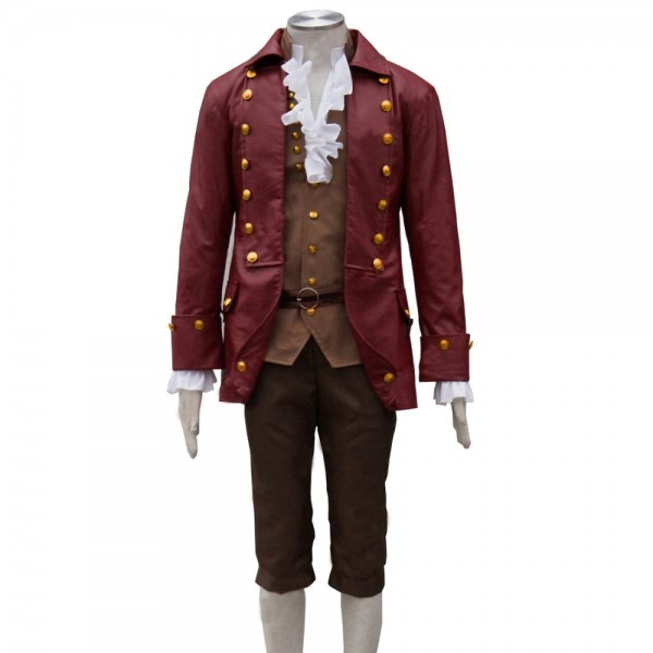 2017 Movie Beauty And The Beast Cosplay Gaston Costumes Anime