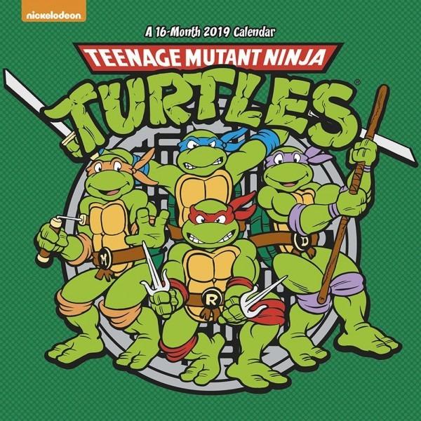 Teenage Mutant Ninja Turtles 2019 Wall Calendar