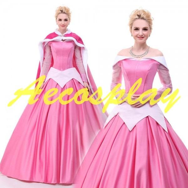 2019 Princess Costumes Adults Aurora Sleeping Beauty Dress