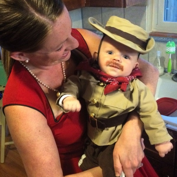 Baby's First Halloween  Theodore Looked Adorable In His Homemade