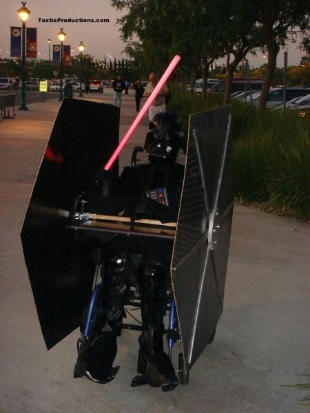 Darth Vader Tie Fighter Costume
