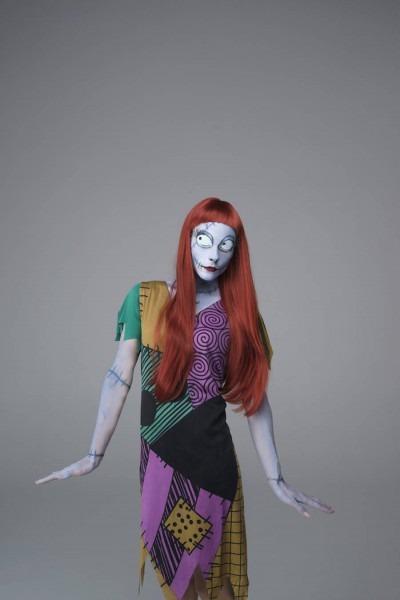 Tim Burton's Characters For Halloween By Pauline Darley