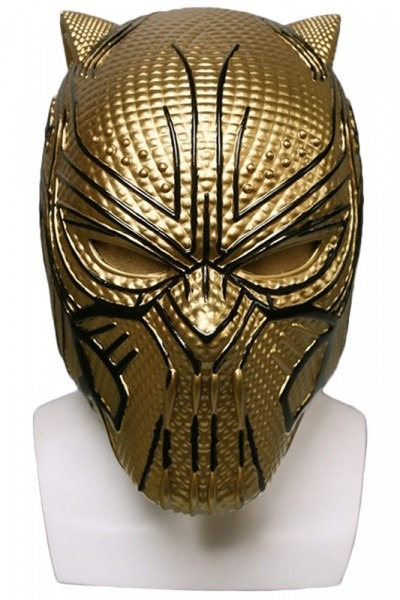 Marvel Black Panther Supervillain Erik Killmonger Cosplay Mask