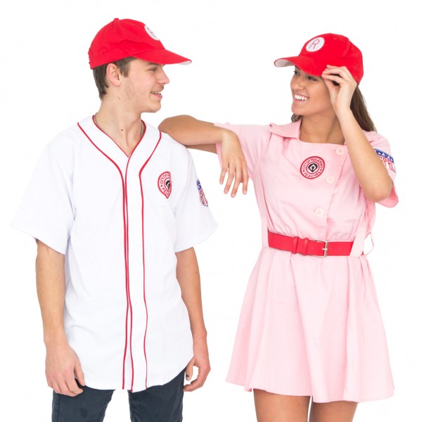 Deluxe City Of Rockford Peaches Men's Adult Jersey Costume Set