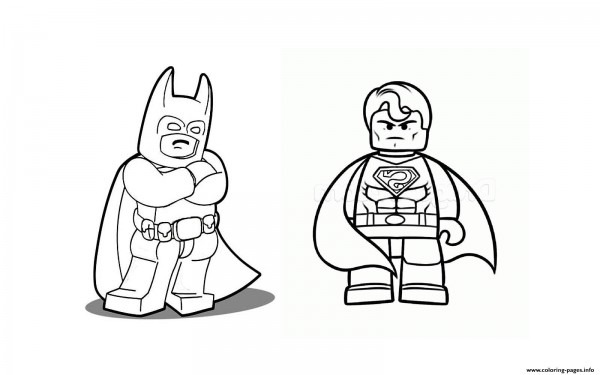Coloring Batman Vs Superman Group With 82+ Items