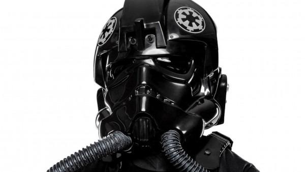 Anovos' Tie Pilot Costume And Darth Vader Helmet