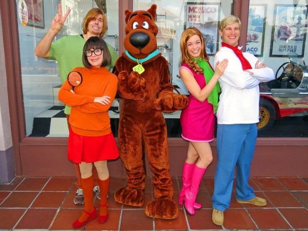 Velma, Shaggy, Scooby