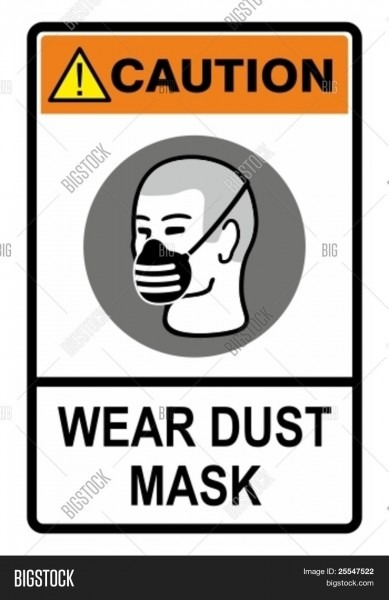 Wear Your Dust Mask, Vector & Photo (free Trial)