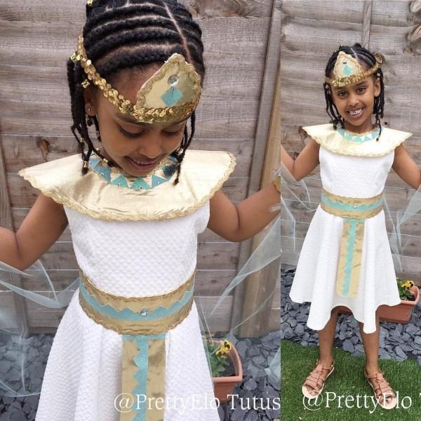 Costumes For Kids, Halloween, Queen Cleopatra, Costume Handmade