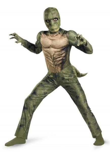 Lizard Muscle Chest (spider Man) Boy's Costume