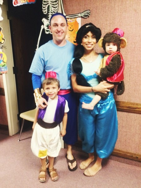 Halloween Aladdin Theme Family Costumes