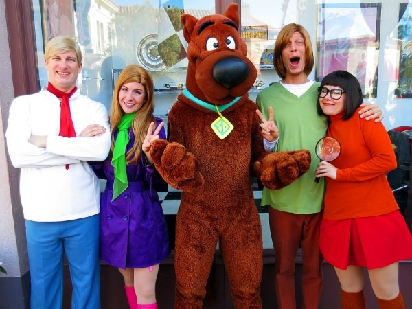Fred, Daphne, Scooby