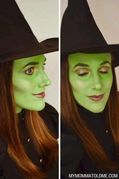 Wicked Witch Costume & Makeup