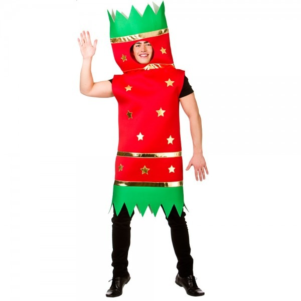 Christmas Comedy Costume Adult Novelty Fancy Dress Outfit One Size