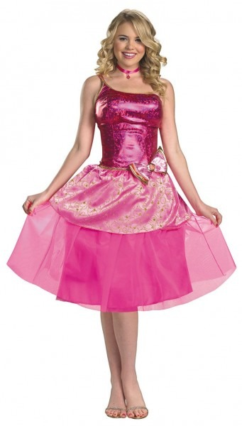 Deluxe Barbie's Princess Charm School Costume