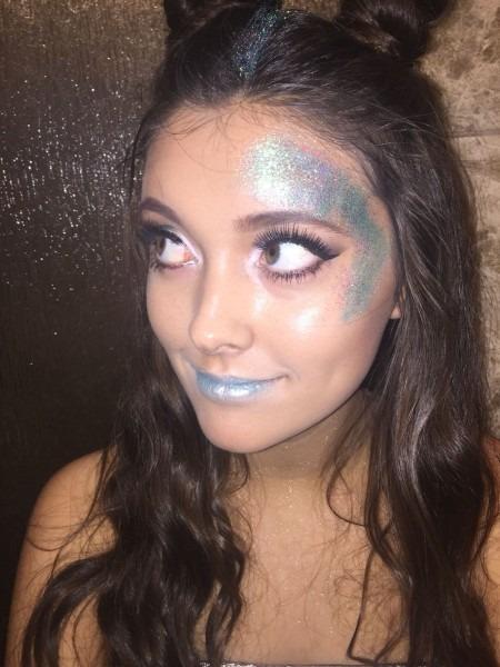 Space Jam Alien Makeup & Hair